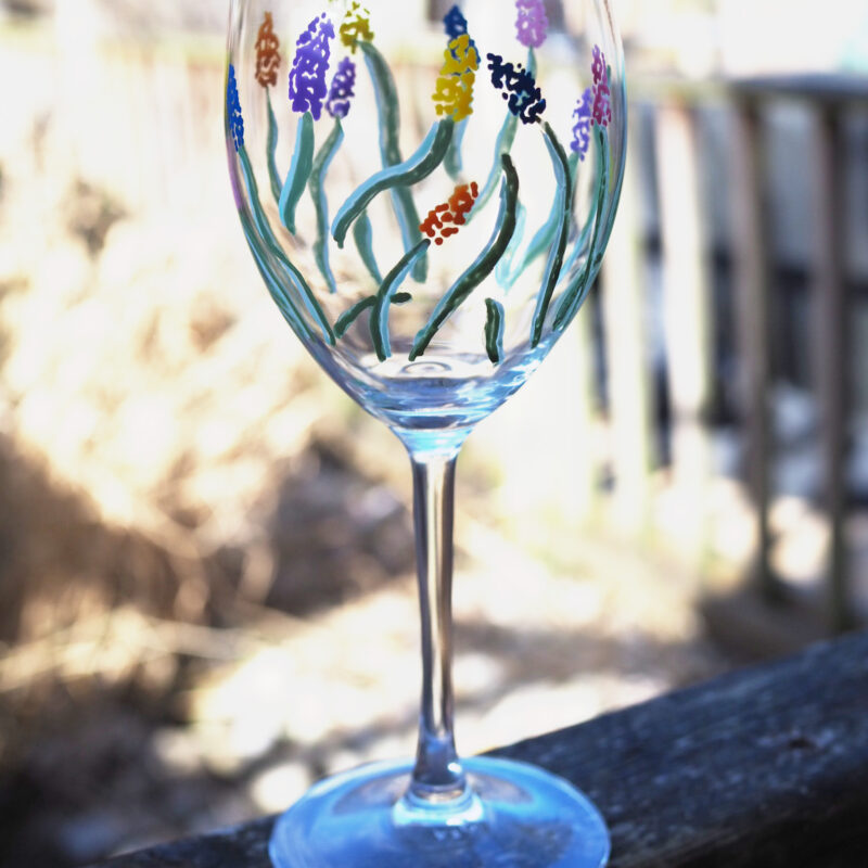 Glass Painting with Chalkola Acrylic Paint Pens