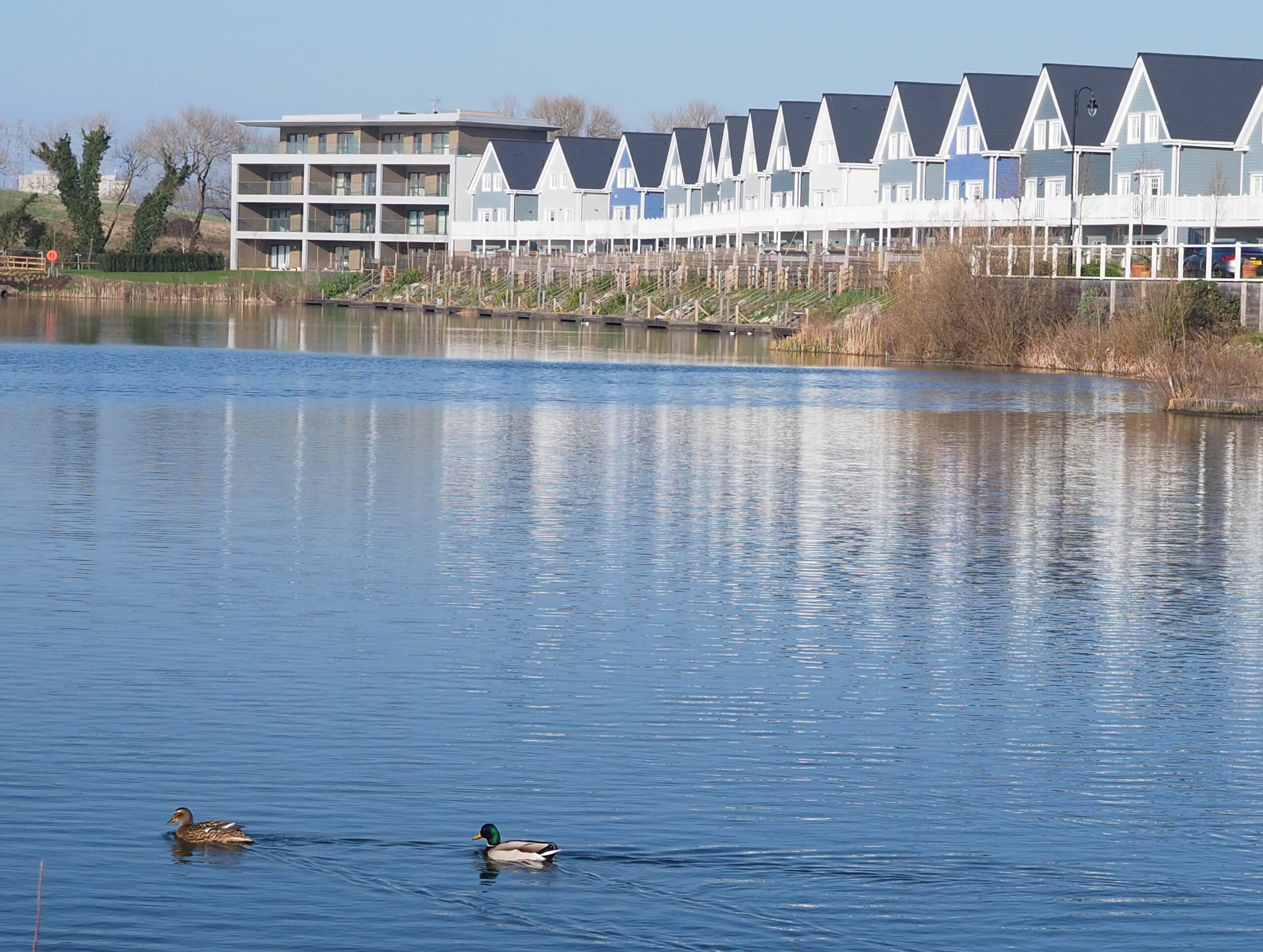 Green park village in Reading