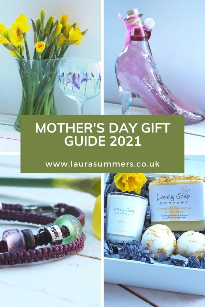 Mother's Day Gift Guide 2021. If you're not sure what to get your Mum or wife for mother's day, I have the ultimate guide for you. With beautiful gin glasses, gin in a shoe, stunning hair stylers, beauty products, planters, jewellery, stationery and more.