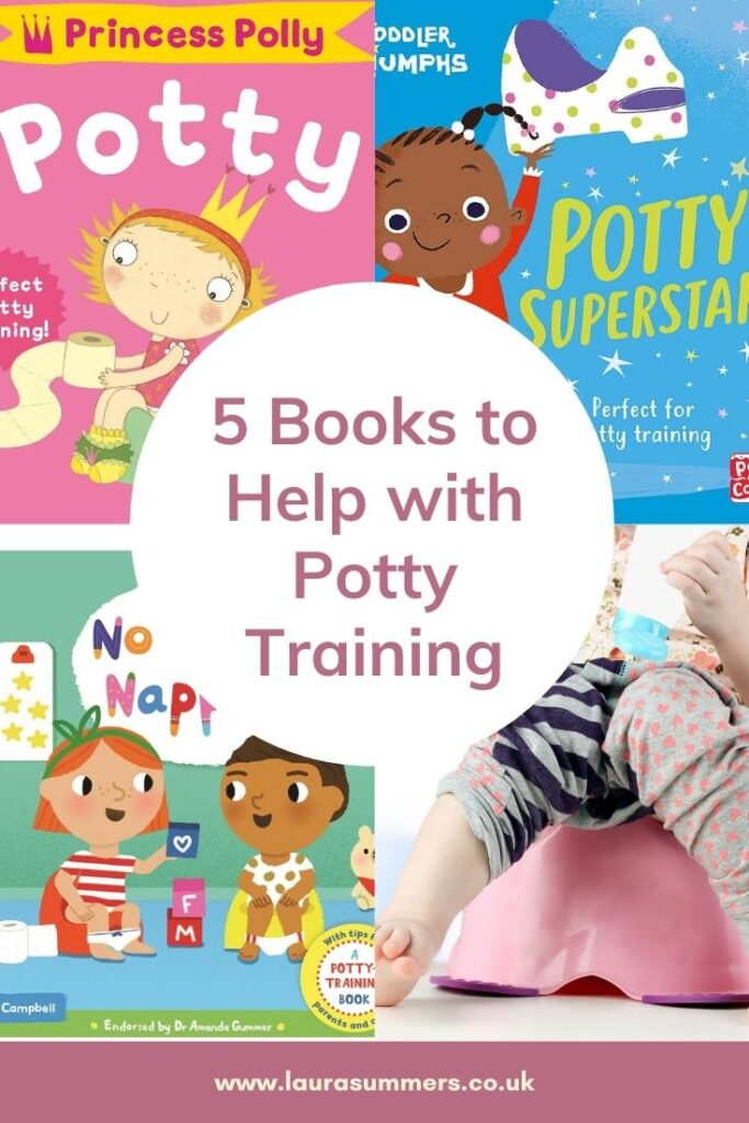 5 Books to Help with Potty Training. From experience books really help with potty training. Here are 5 books to help your little one with potty training. As well as from potty to toilet.