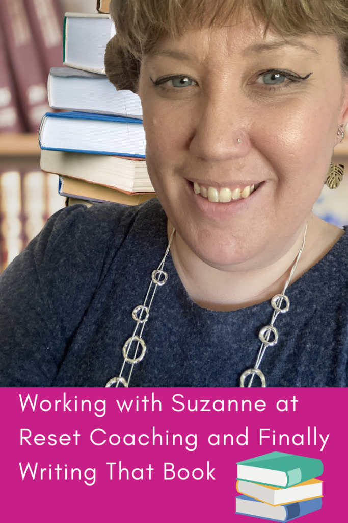 Working with Suzanne at Reset Coaching and Finally Writing That Book. How working with a confidence coach finally helped me to achieve my dream of writing a book.