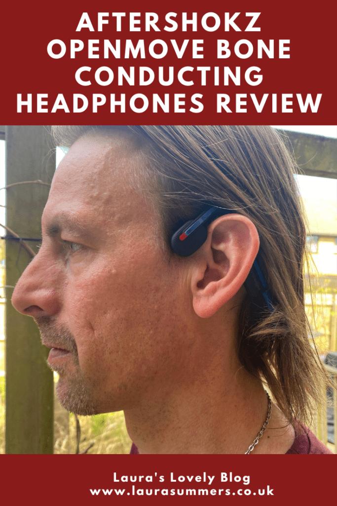 Aftershokz OpenMove Bone Conducting Headphones Review. Using bone conducting earphones for running and fitness.