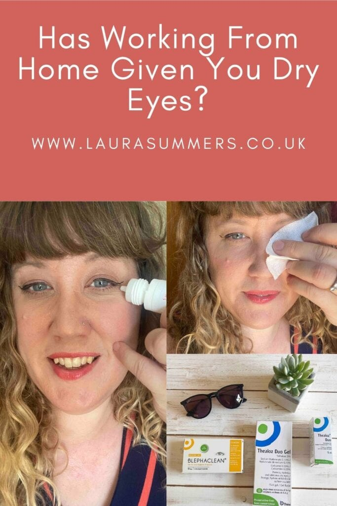 Has Working From Home Given You Dry Eyes? Masks and lots of screen time dries out your eyes. You may not even realise your eyes are dry. But if they feel itchy, tired and sore eyes there's a good chance you do. I've been trying out some products from Théa Eye Health to see if they help.