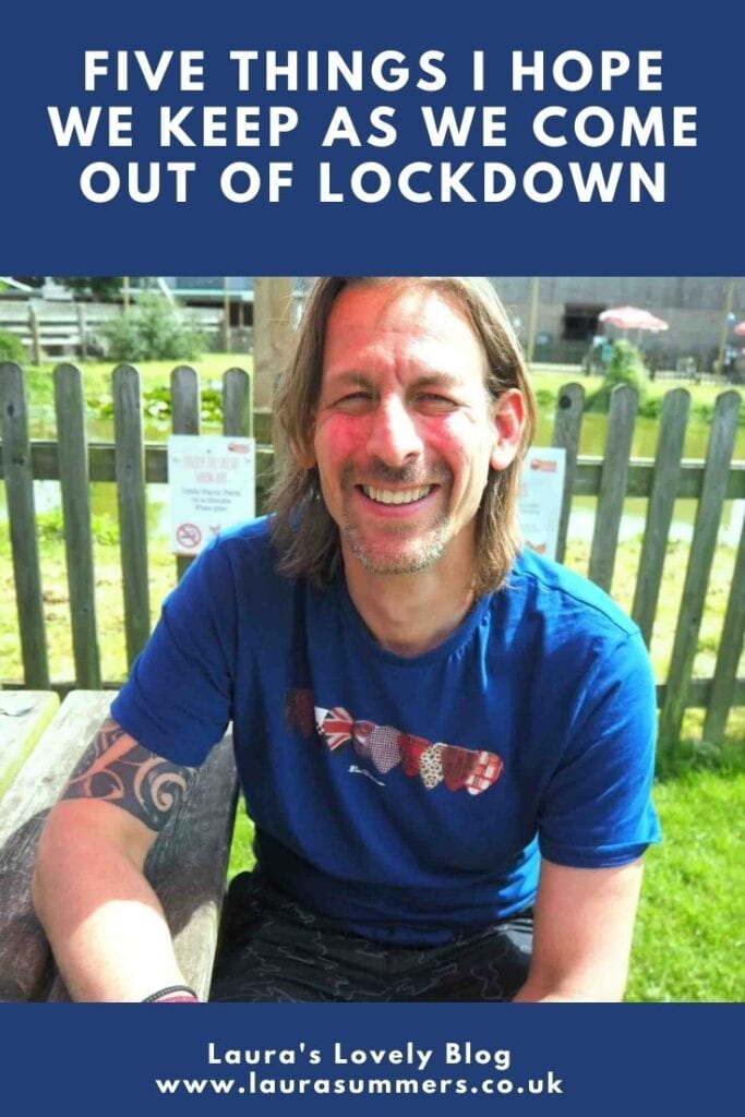 Five Things I Hope We Keep As We Come Out Of Lockdown. From children on conference calls to abandoning the 9 to 5 there are some things I do not want to end as lockdown ends.