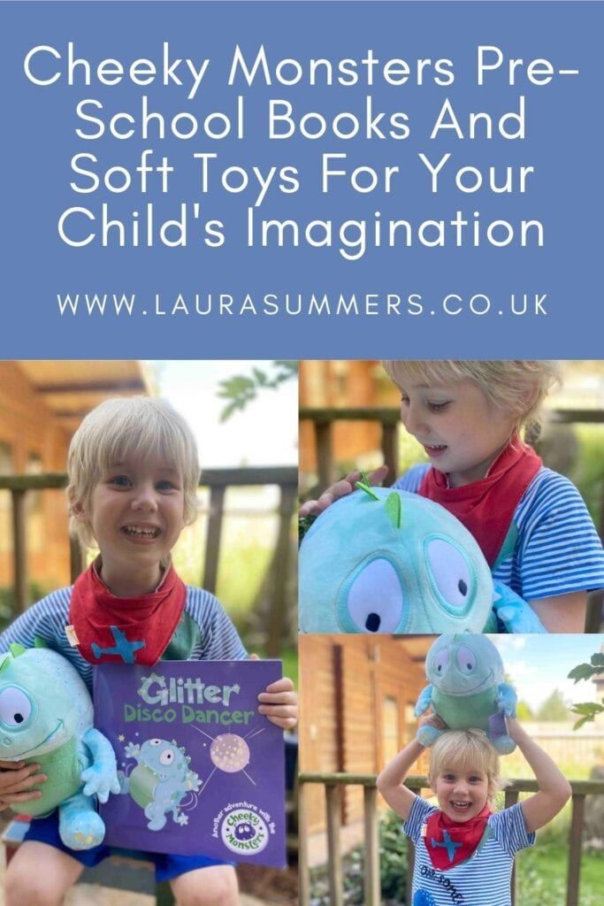 Cheeky Monsters Pre-School Books And Soft Toys For Your Child's Imagination. A gorgeous selection of books and soft toys about encouraging imaginary play