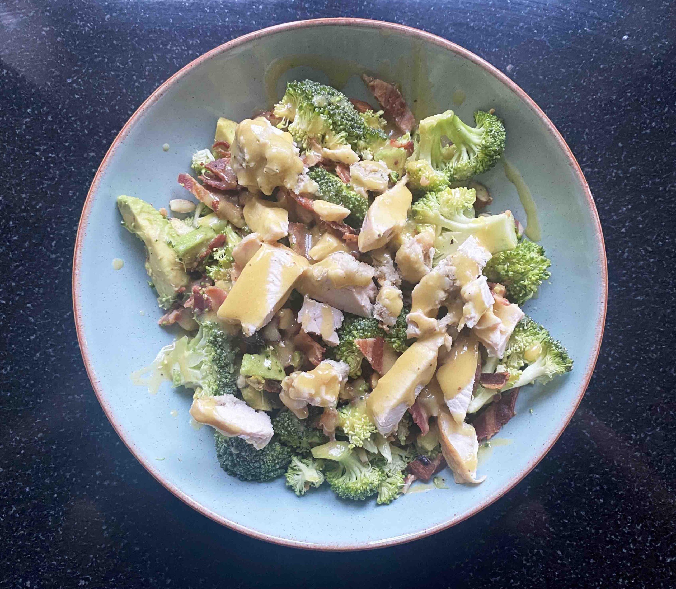Easy Broccoli Salad With Bacon Recipe