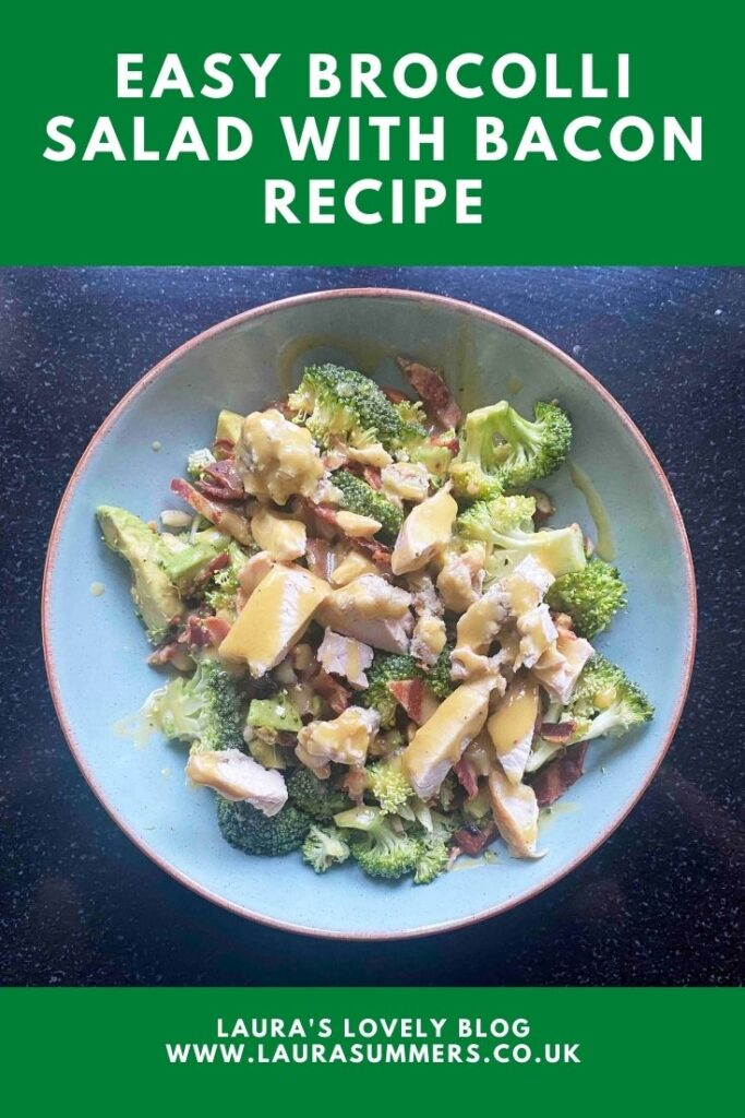 Easy Broccoli Salad With Bacon Recipe. An easy to make salad with broccoli, almonds and a honey mustard dressing.