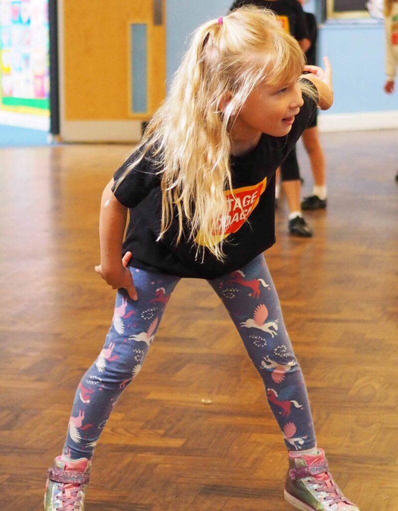 Aria dancing